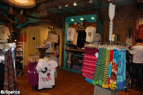 Adventureland Shops