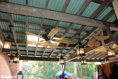 Adventureland Shop Ceilings