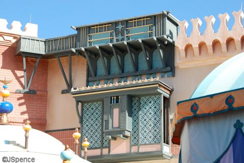 Adventureland Second Floors and Roofs