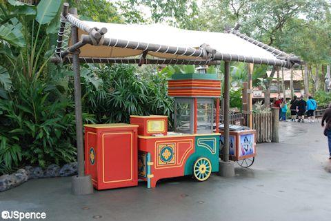 Outdoor Food Cart