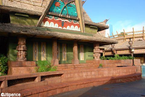 Tiki Room Exterior
