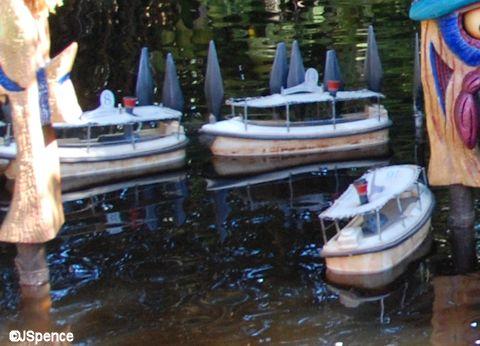 Shrunken Ned's Junior Jungle Boats