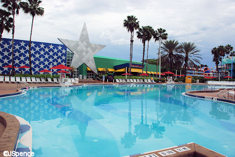 Surfboard Bay Pool