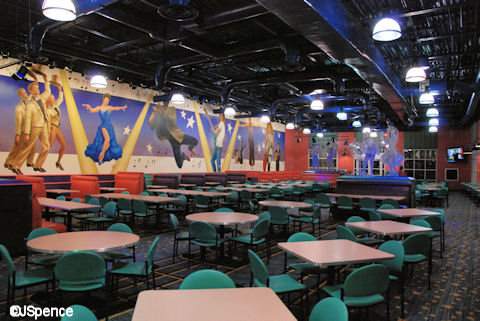 Intermission Food Court Dining Room