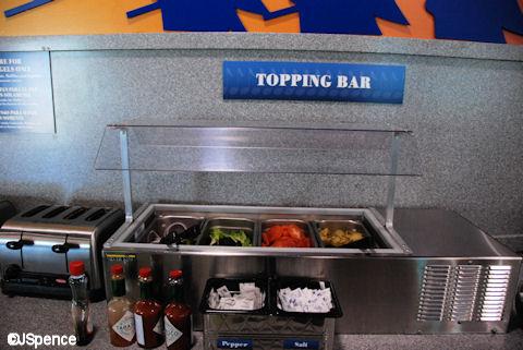 Topping Bar