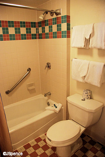 All Star Music Room Toilet and Shower