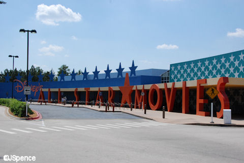 All Star Movies Exterior