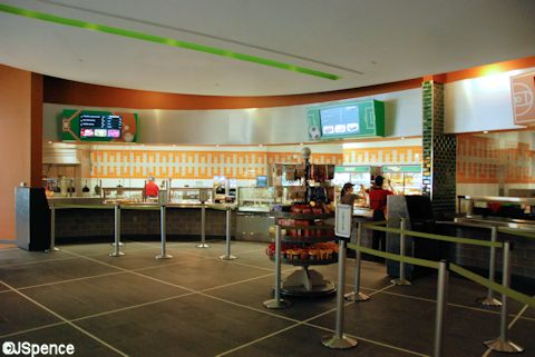 New All Star Sports Food Court
