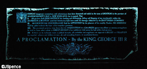 King George Proclamation