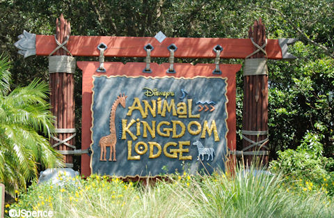 Animal Kingdom Lodge Sign