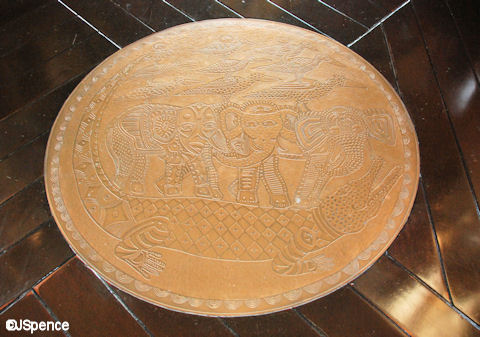 Bronze Floor Art