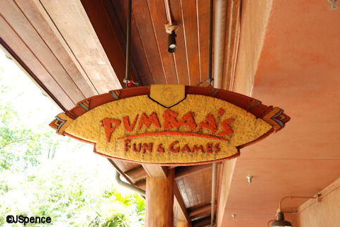Pumbaa's Fun & Games Arcade