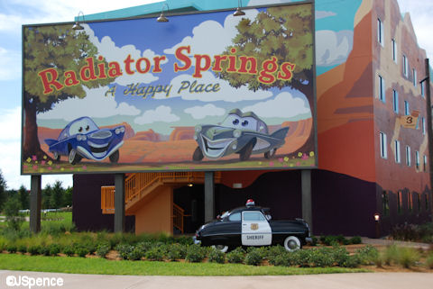 Radiator Springs Billboard