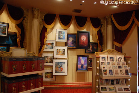 Art of Disney Store in Magic Kingdom
