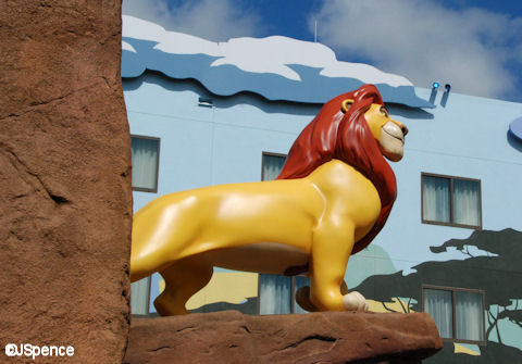 Mufasa on Pride Rock