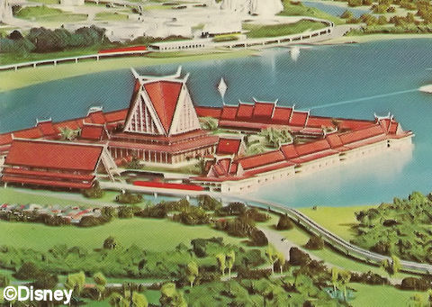 Artist's Rendering of Asian Resort