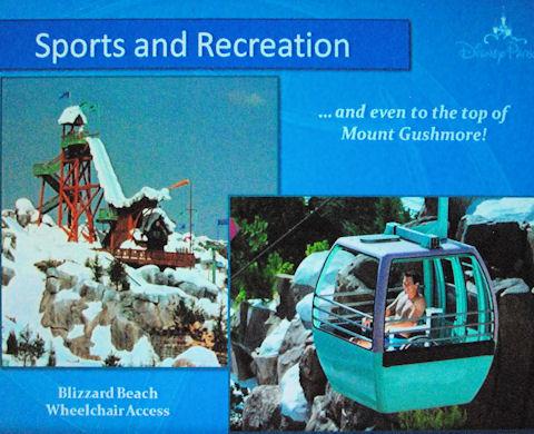 Blizzard Beach Gondola