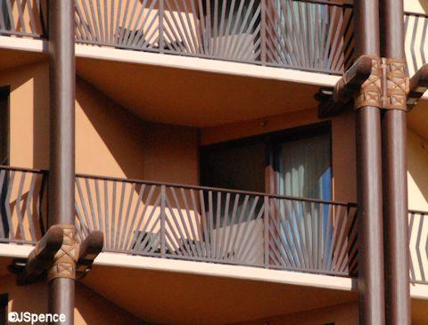 Close-up of Balcony