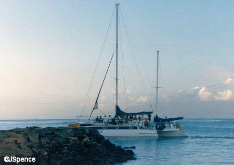 Catamaran to Lanai