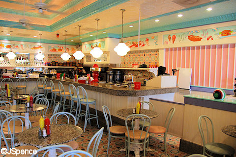 Beaches & Cream Interior