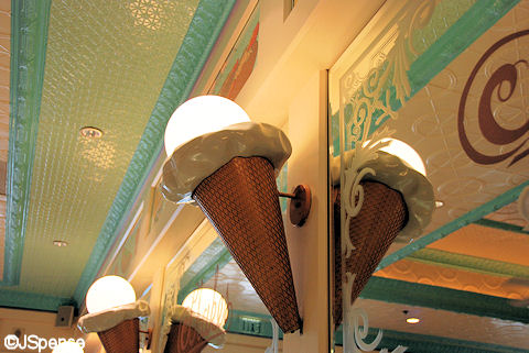 Ice Cream Cone Wall Sconce
