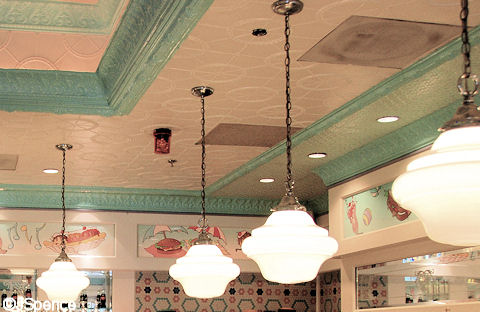 Beaches & Cream Ceiling