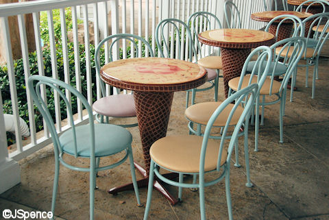Ice Cream Cone Table