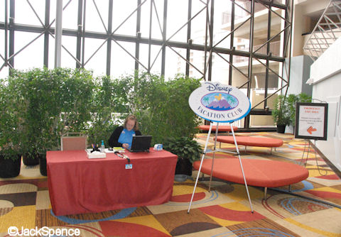 Disney Vacation Club Desk