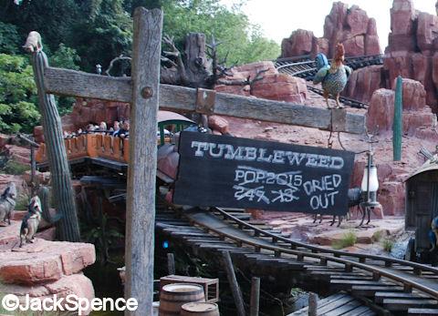 Tumbleweed Sign