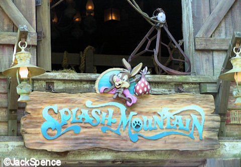 Splash Mountain Sign