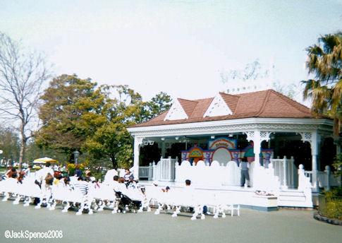 Plaza Bandstand Stage  at Tokyo Disneyland
