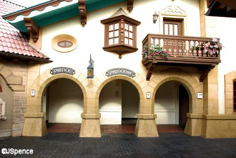 Pinocchio Restroom