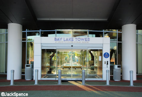 Bay Lake Tower Entrance
