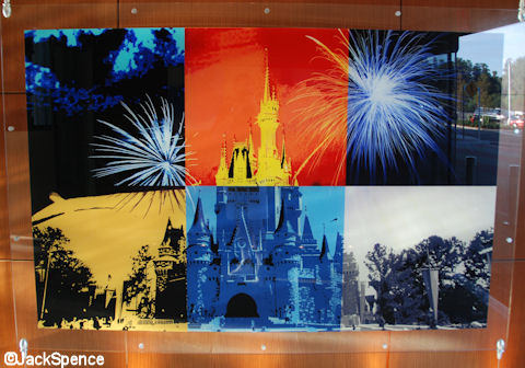 Magic Kingdom Castle Art