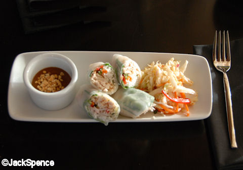 Chicken & Vegetable Summer Rolls