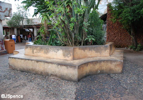 Africa Planter/Bench