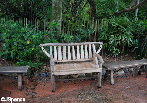Asian Basic Bench