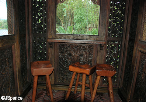 Sentry Post Barstools