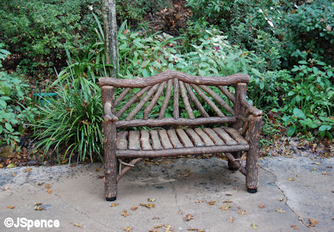 Camp Minnie-Mickey Bench