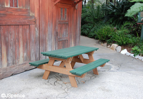 Dinoland Picnic Table