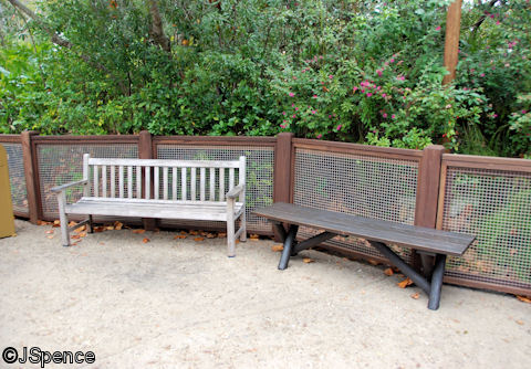 Restaurantosaurus Bench