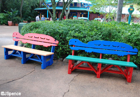 Recycled Milk Carton Bench