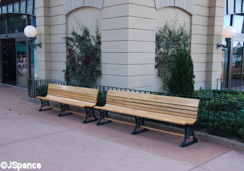 World Showcase Generic Bench