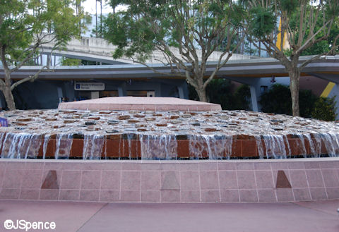 Epcot Entrance Fountain