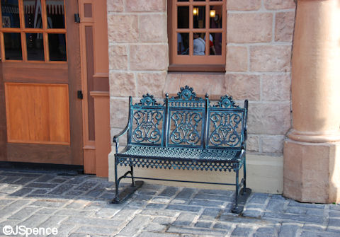 Ornate Fantasyland Seating