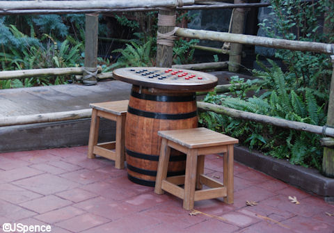 Checkers Table and Stools