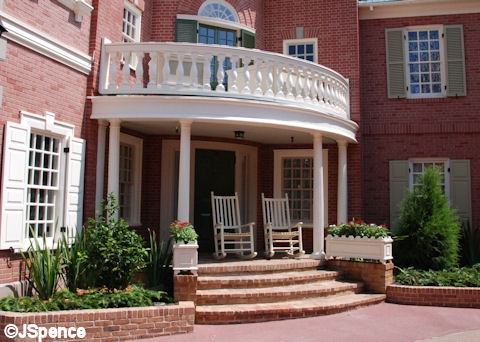 Hall of Presidents Rocking Chair