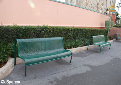 Mickey Avenue Bench