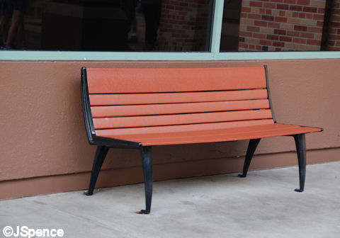 Pixar Place Bench