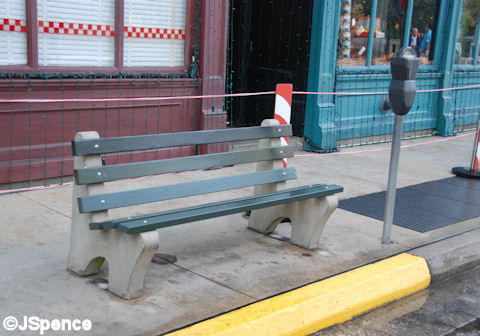 Streets of America Bench